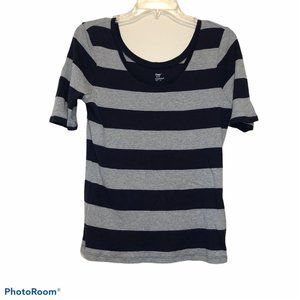 Gap elbow length sleeve supersoft tee scoop neck